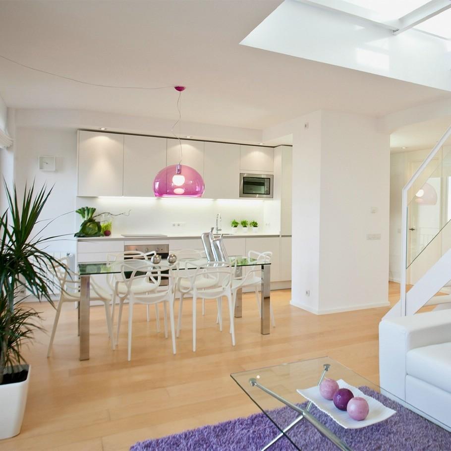 Apartment Purple